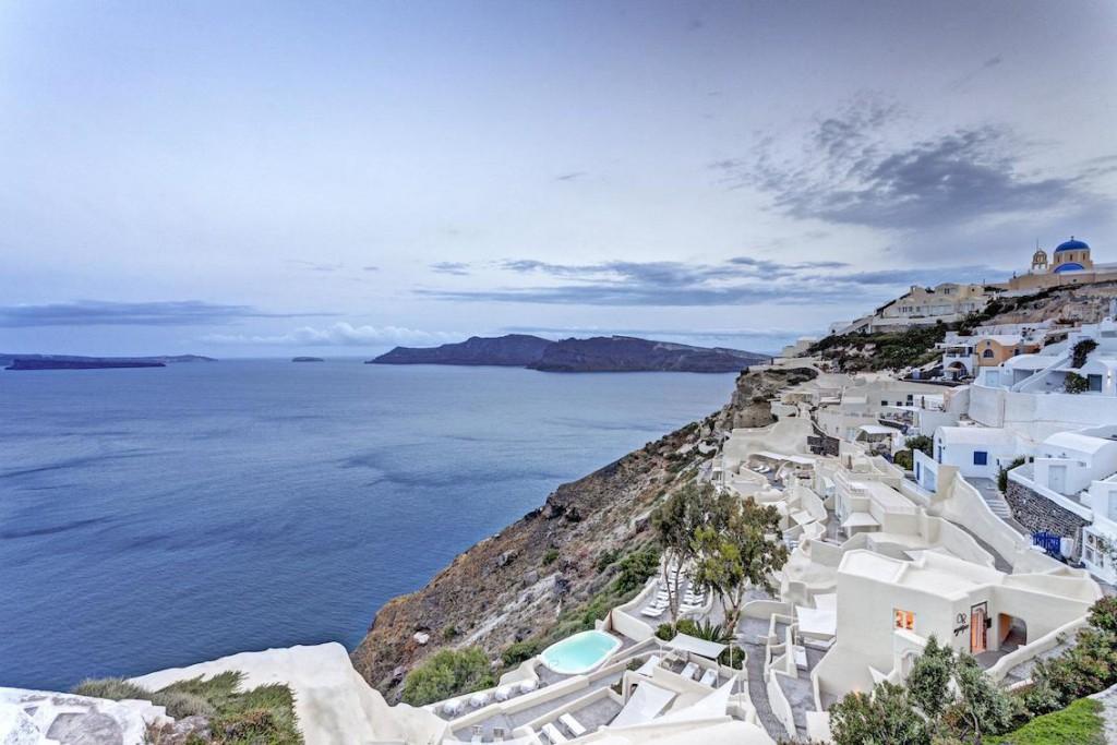 Mystique Resort Luxushotel Santorini buchen