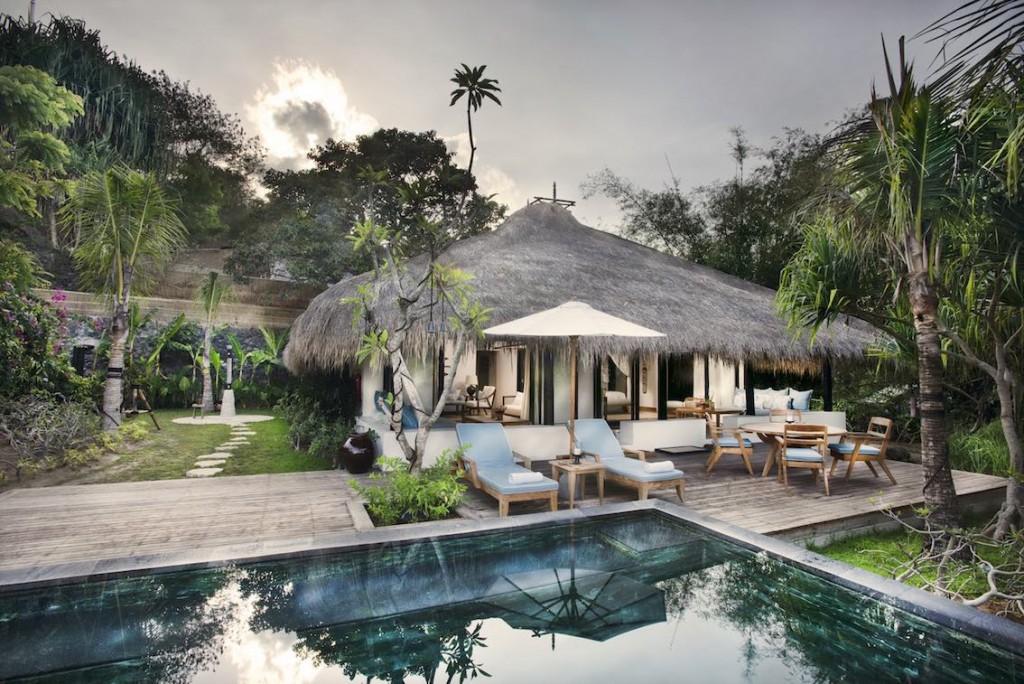 Luxushotel Nihiwatu Indonesien