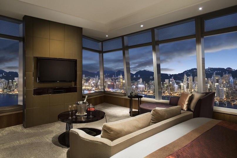 Luxushotel the ritz carlton in hong kong g nstig buchen for Hotel luxury hong kong