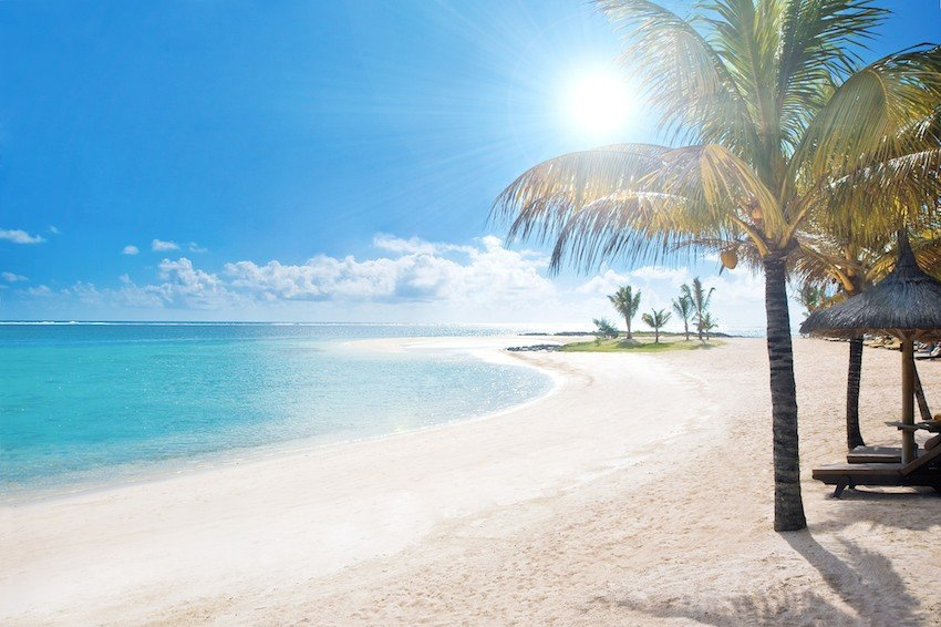 Lux Belle Mare Strand Mauritius