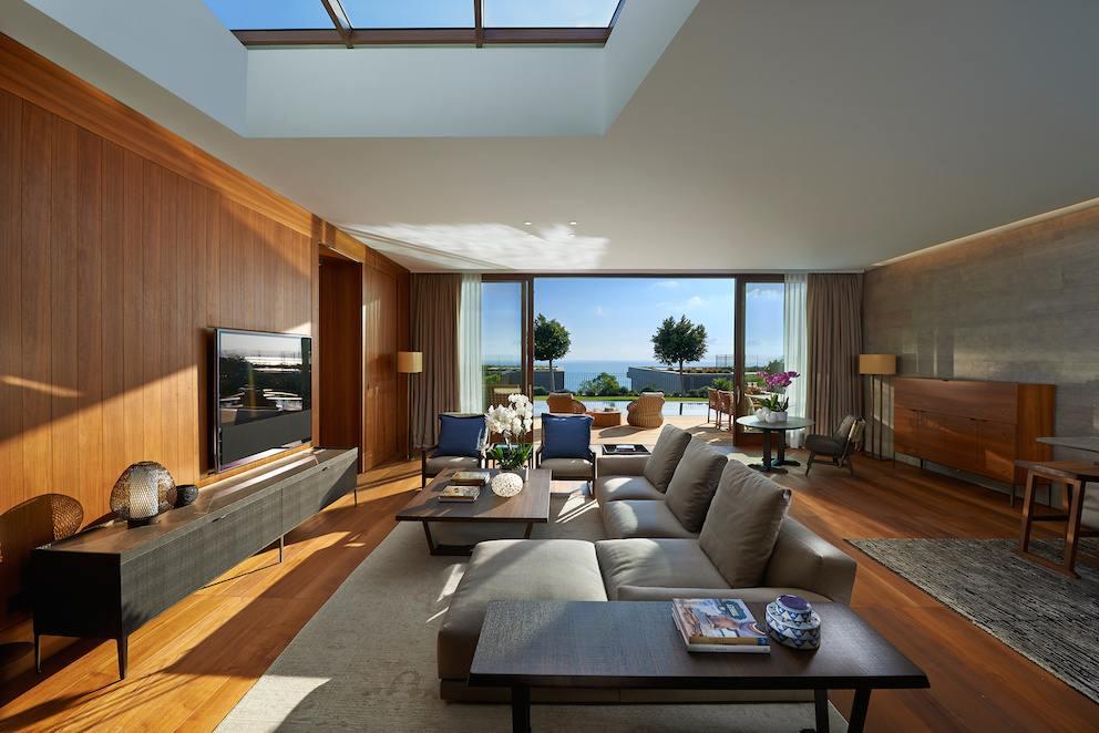 Mandarin Oriental Bodrum  Mediterranean Living Room
