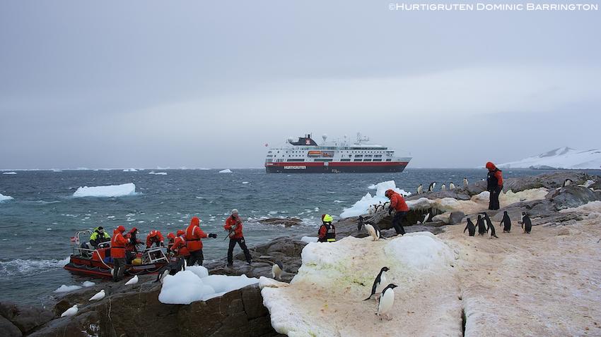 Hurtigruten Antarktis buchen