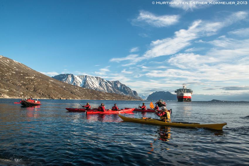 Hurtigruten Grönland buchen