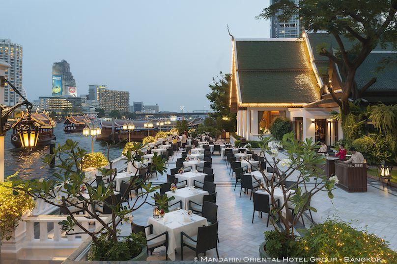 Mandarin Oriental Hotel Group - Bangkok Sala Rim Naam Terrasse