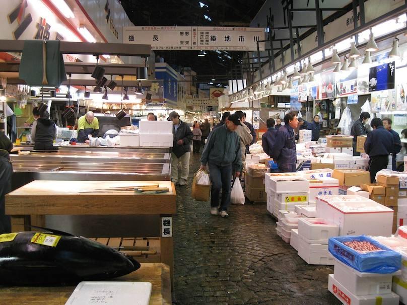 Tokio Fischmarkt