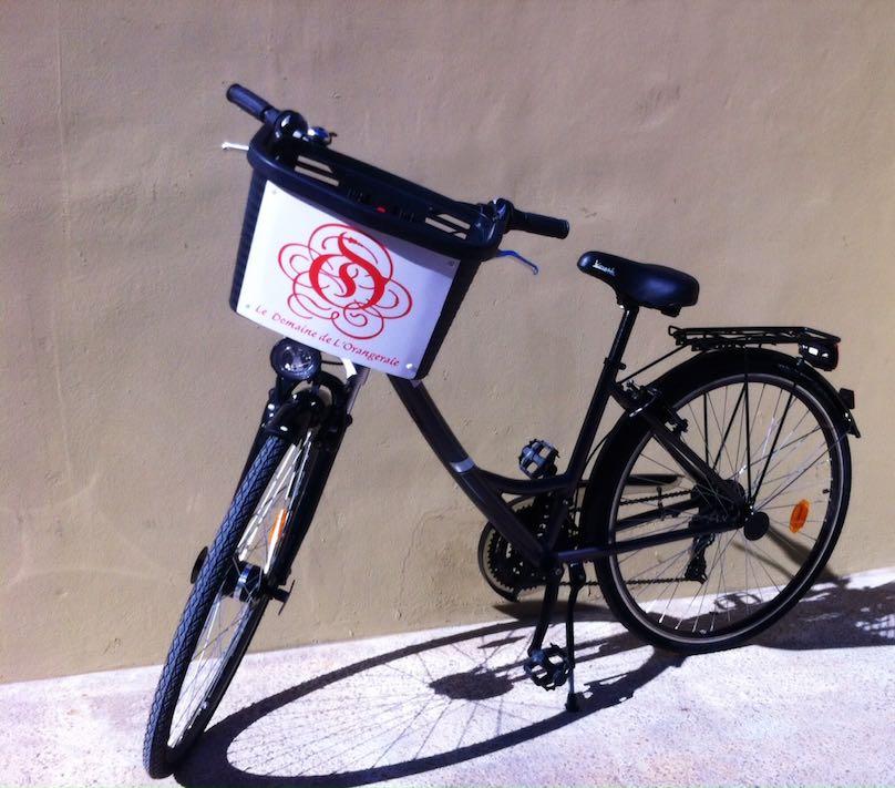 Le Domaine Orangeraie Fahrräder