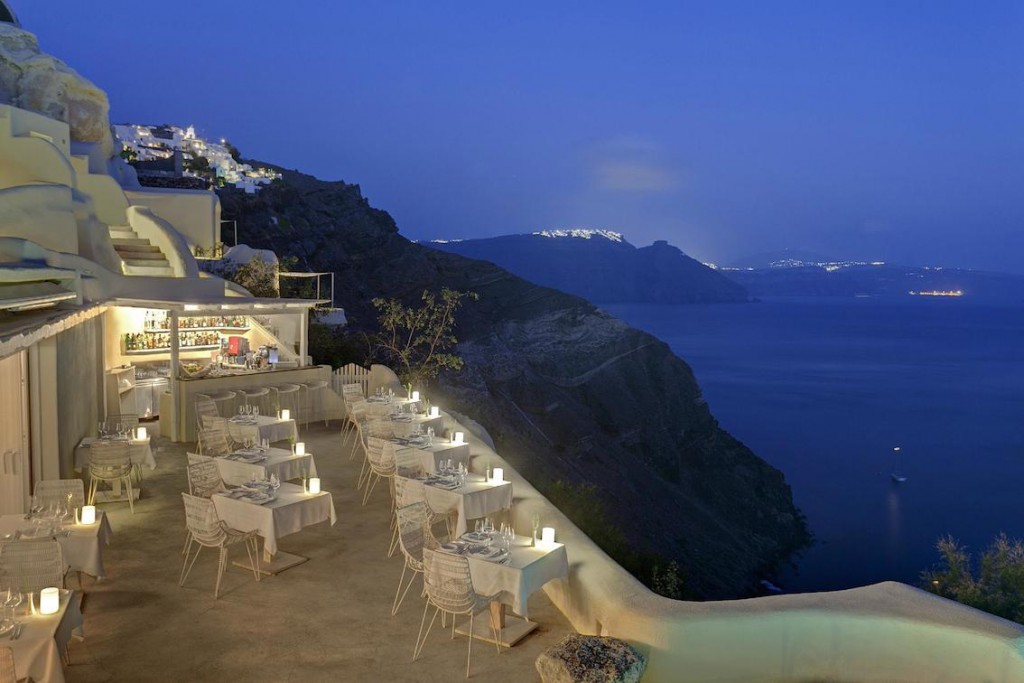 Mystique Resort Luxushotel Santorini buchen