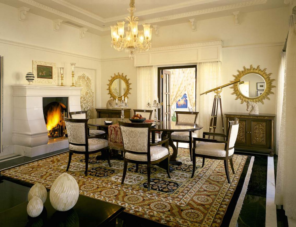 Luxushotel Oberoi Udaipur Indien