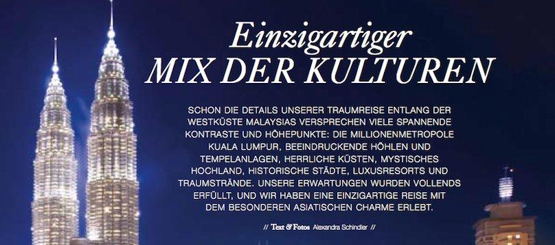Malaysia Reisebericht Reisebüro Regensburg