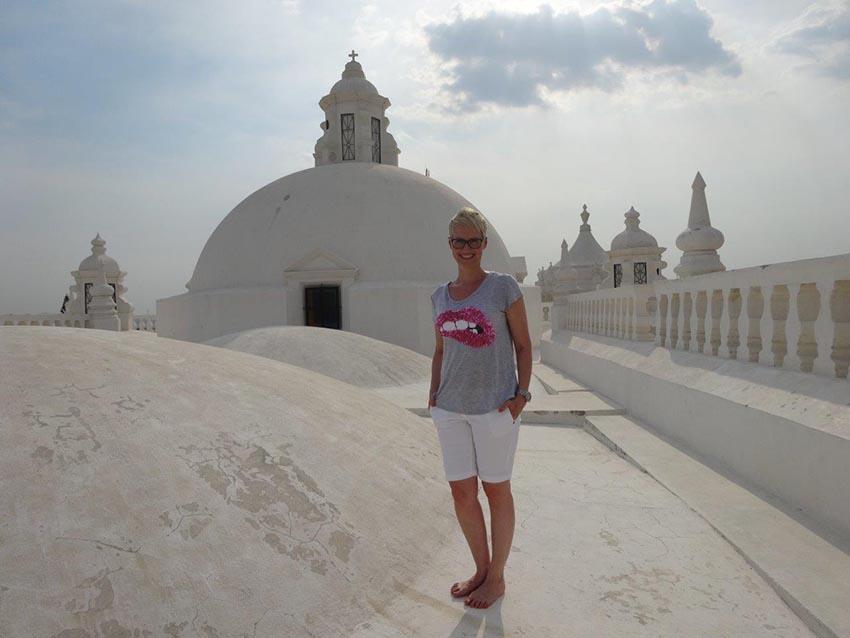 Auf dem Dach der Kathetrale