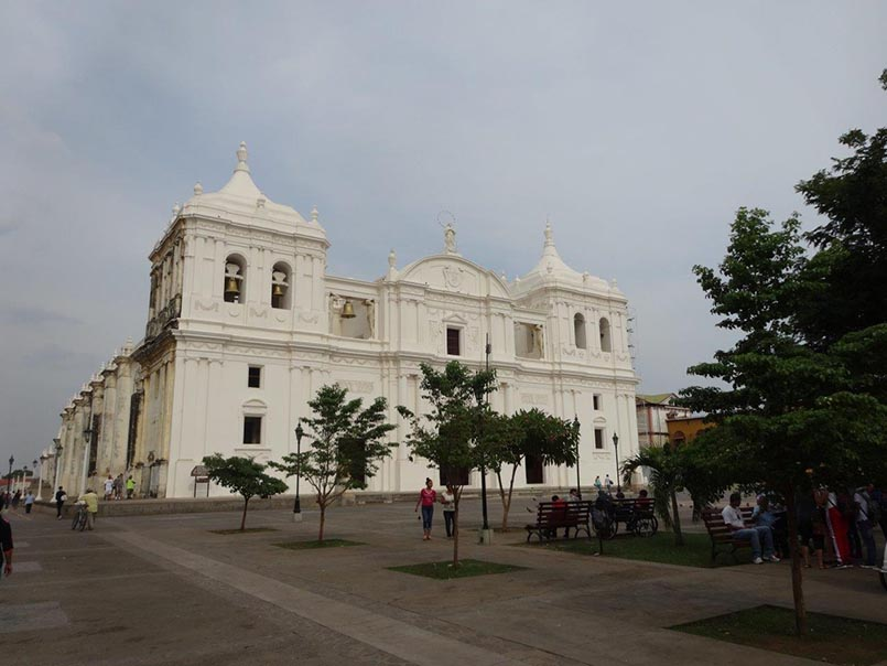 Kathedrale León Basilica de la Asunción