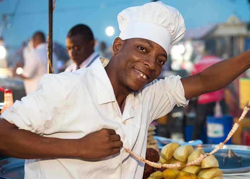 Afrika Essen erleben