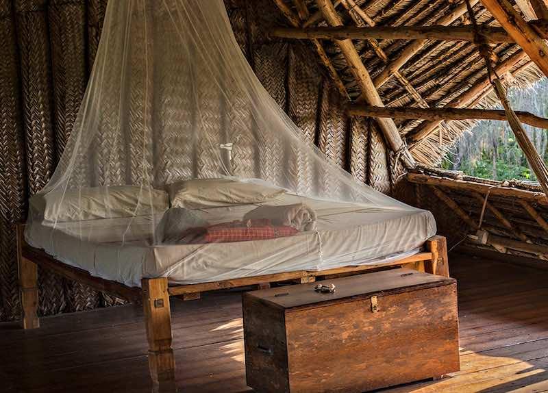 Schlafen in Afrika im Camp