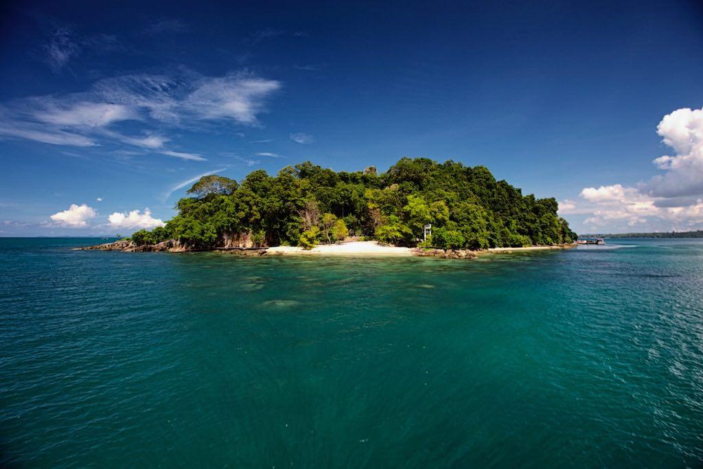 Krabey Island Kambodscha