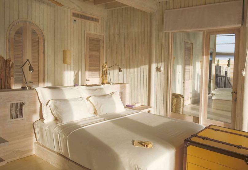 Soneva Jani Malediven Bett