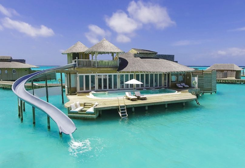 Soneva Jani Resort Wasservilla klein