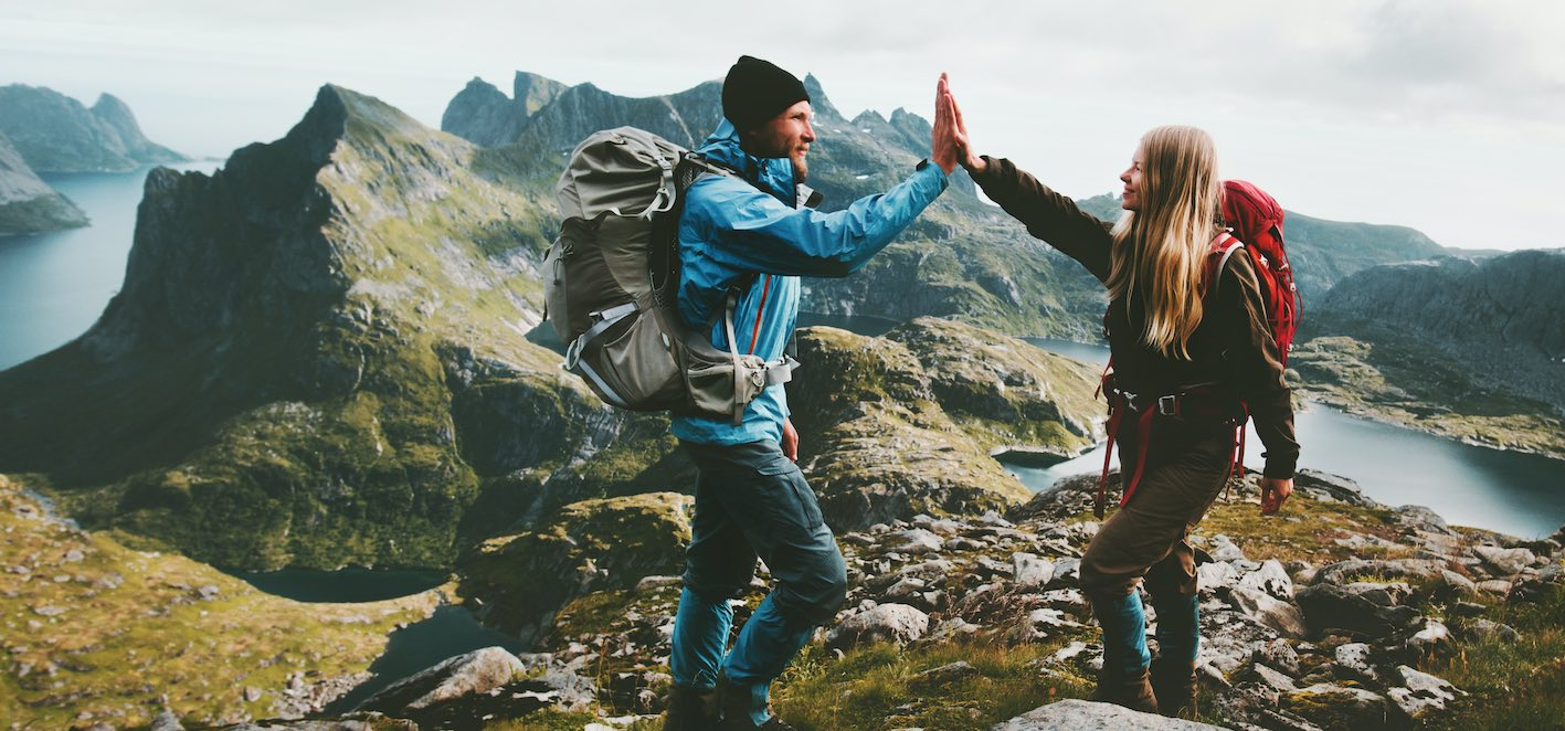 Bergwandern Klettern Reisebüro