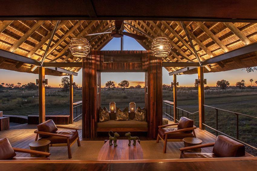 Chitabe Camp Aussichtsplattform