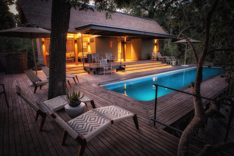 Chitabe Camp Pool