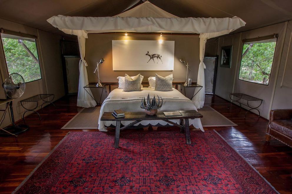 Chitabe Camp Schlafzimmer