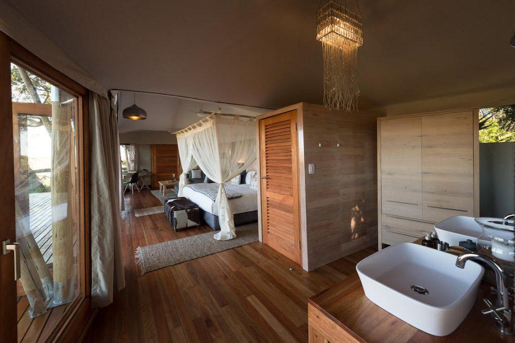 Kwetsani Camp Botwswana Bad