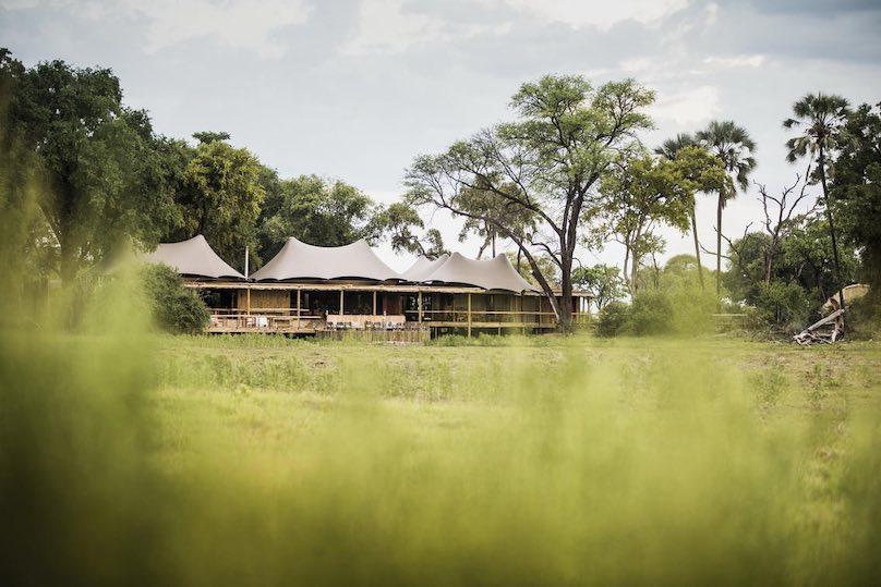 Mombo Camp Außenanlage