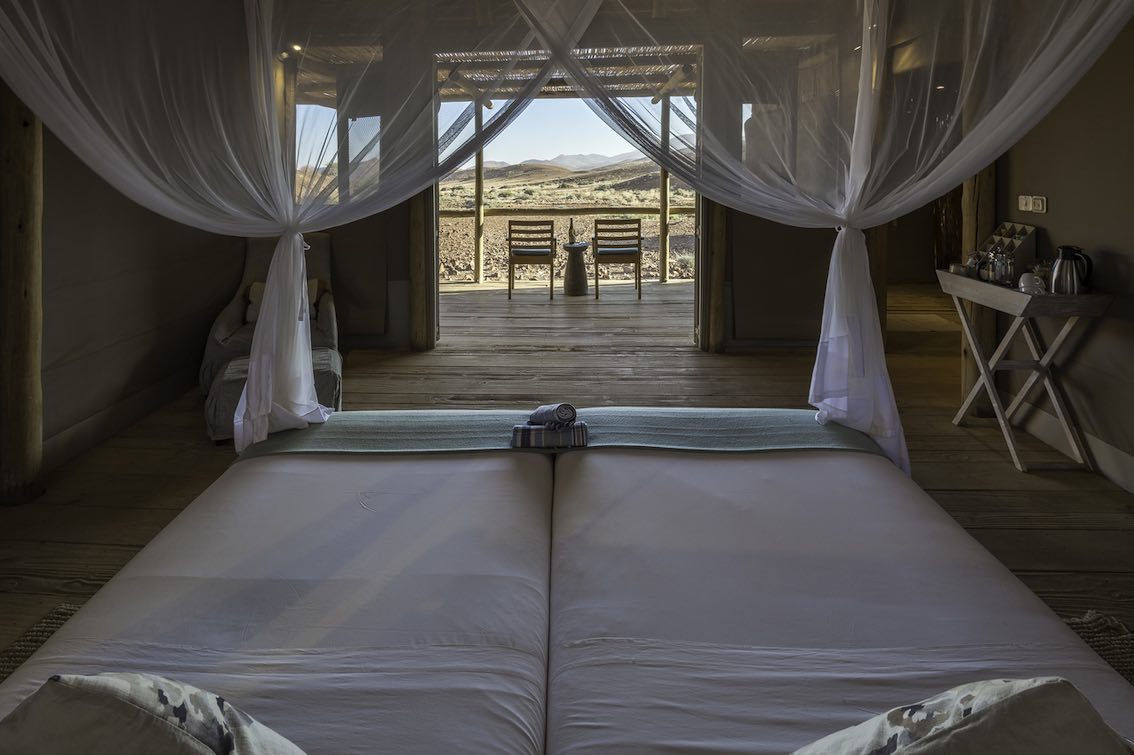 Damaraland Namibia Schlafzimmer