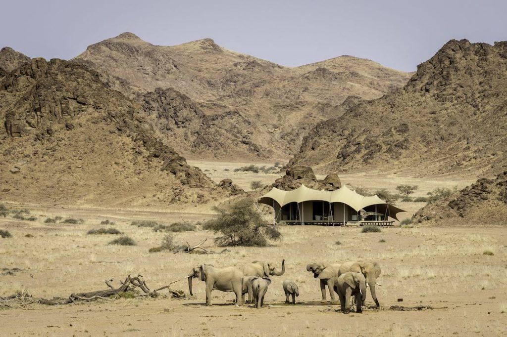 Elefanten Camp Namibia