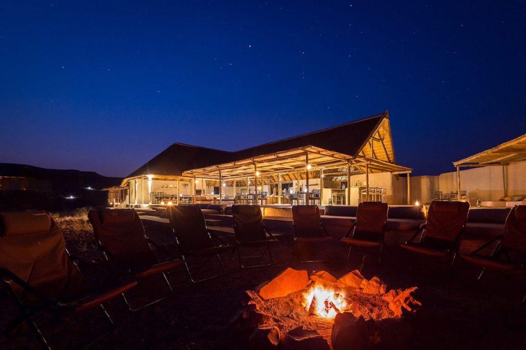 Hotellobby Damaraland Namibia