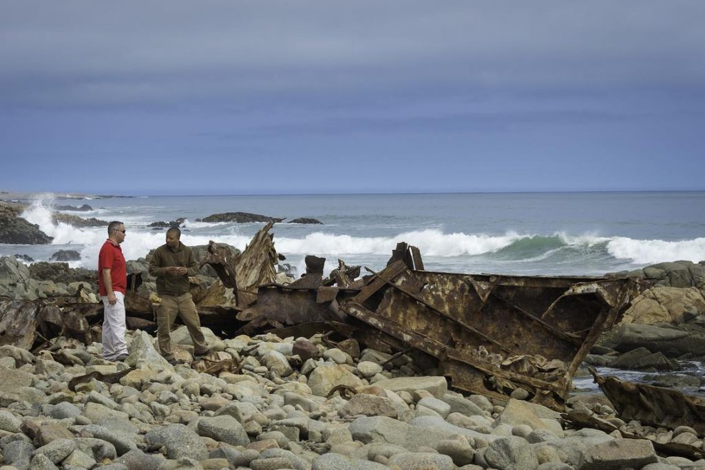 Schiffswrack Küste Namibia