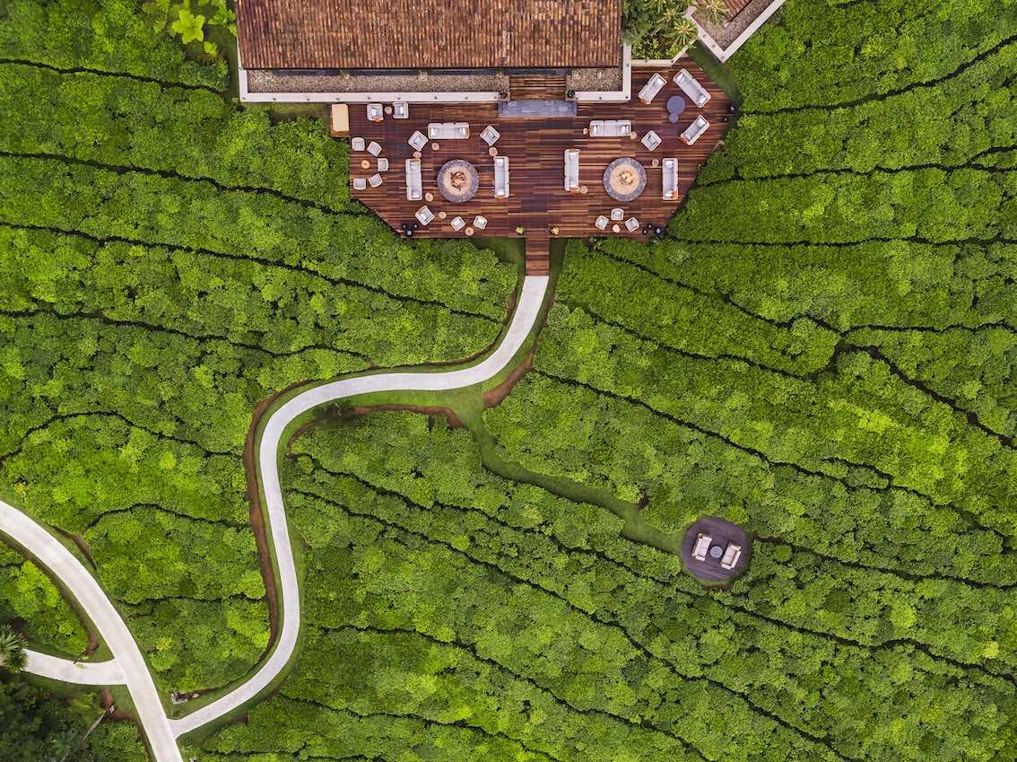 Nyungwe House Luftaufnahme