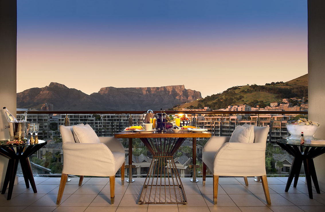 OneAndOnly_CapeTown_Accommodation_Suite Balkon Ausblick