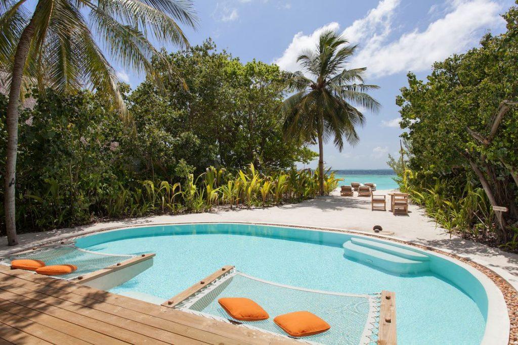 Soneva Fushi Crusoe Suite mit Pool
