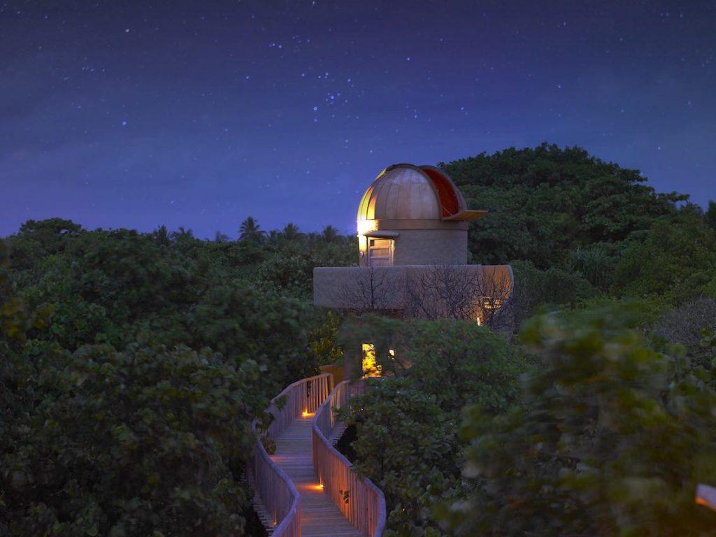 Soneva Fushi Himmelsbeobachtung