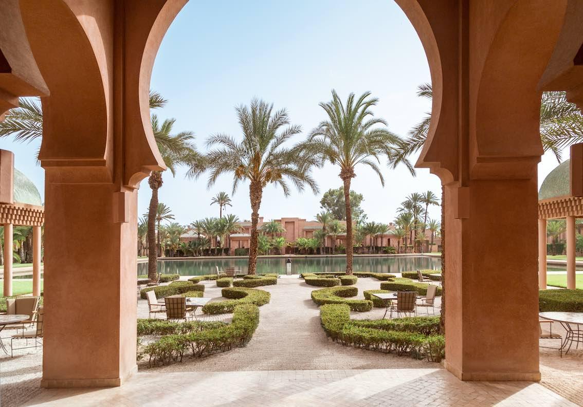 Amanjena, Morocco - Garden & Basin