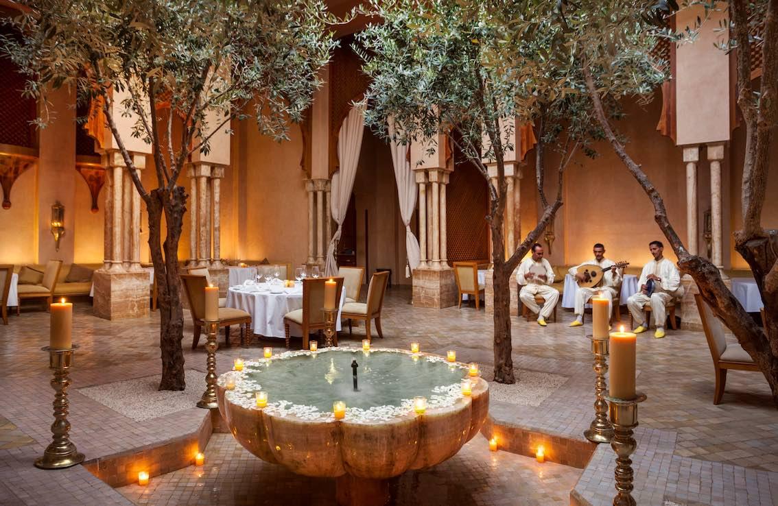 Amanjena, Morocco - Moroccan Restaurant