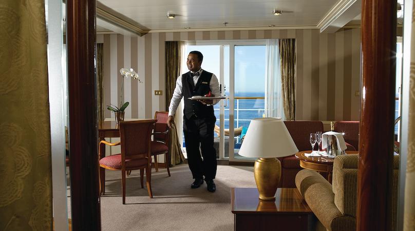 Silversea Suite mit Butler