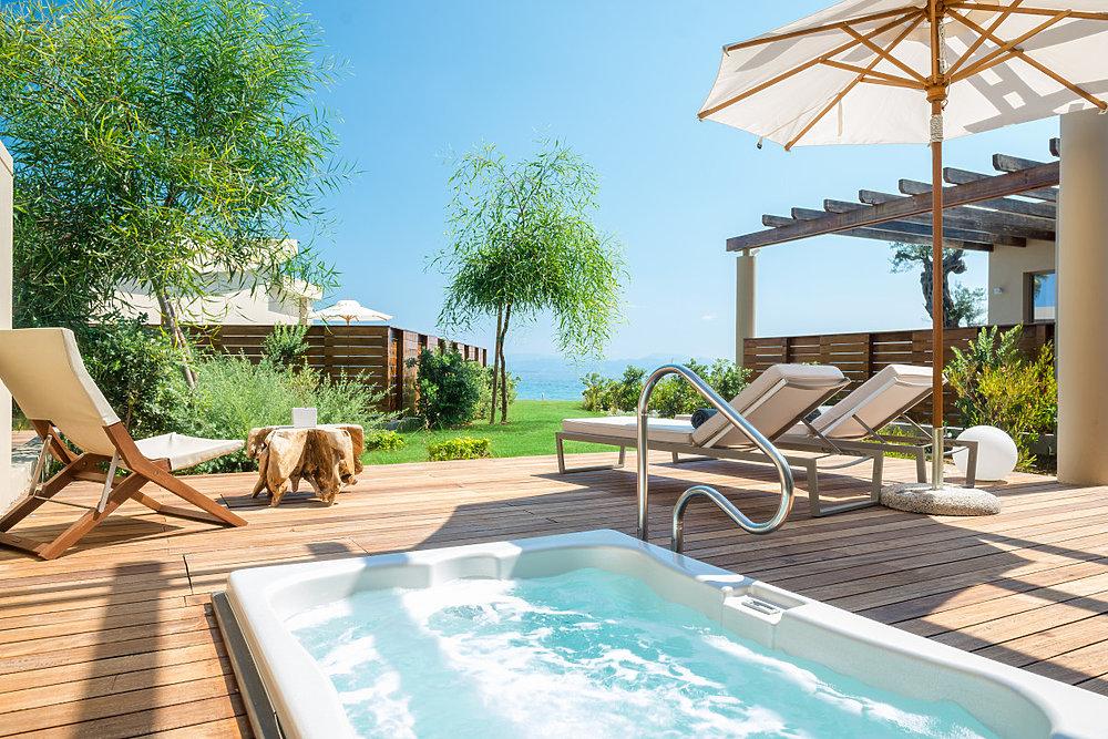Zimmer mit Whirlpool in Korfu
