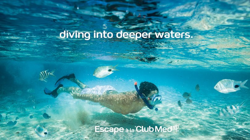 Tauchen im Club Med