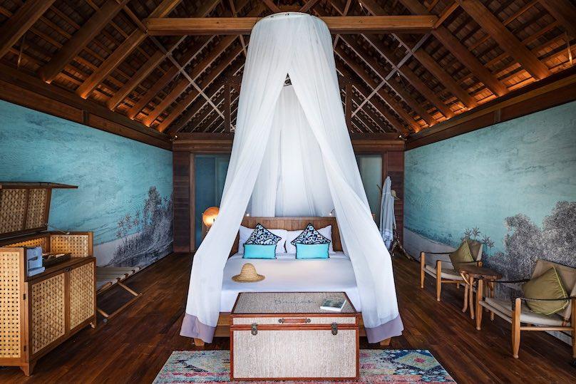 Bawah Resort Schlafzimmer