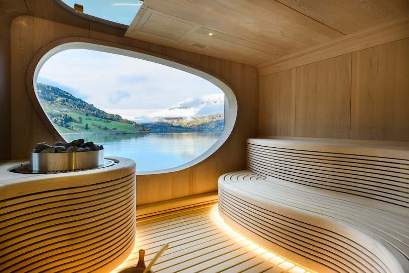 Ponant Kreuzfahrschiff Sauna