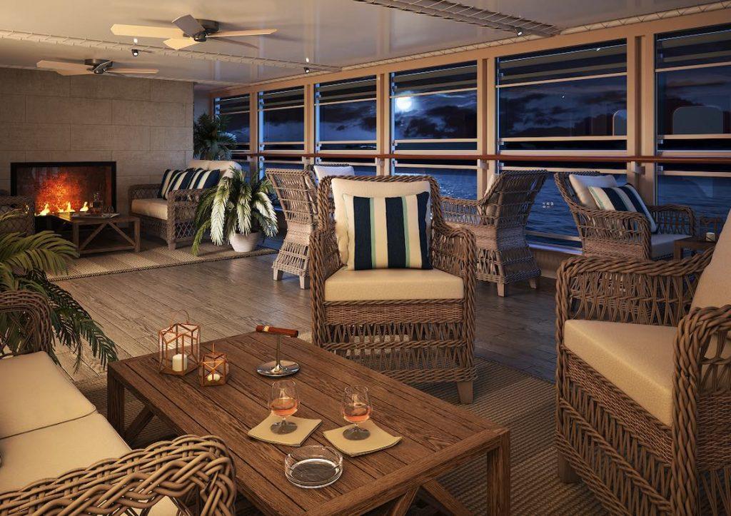 Silver Moon Silversea Lounge Karibic