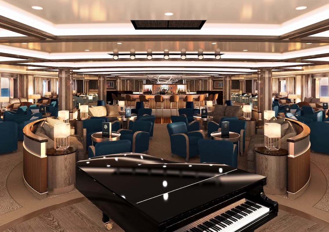 Silver Moon Silversea Piano Bar