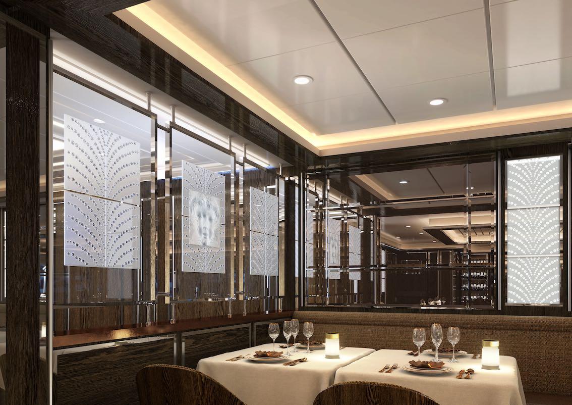 Silver Moon Silversea Restaurant