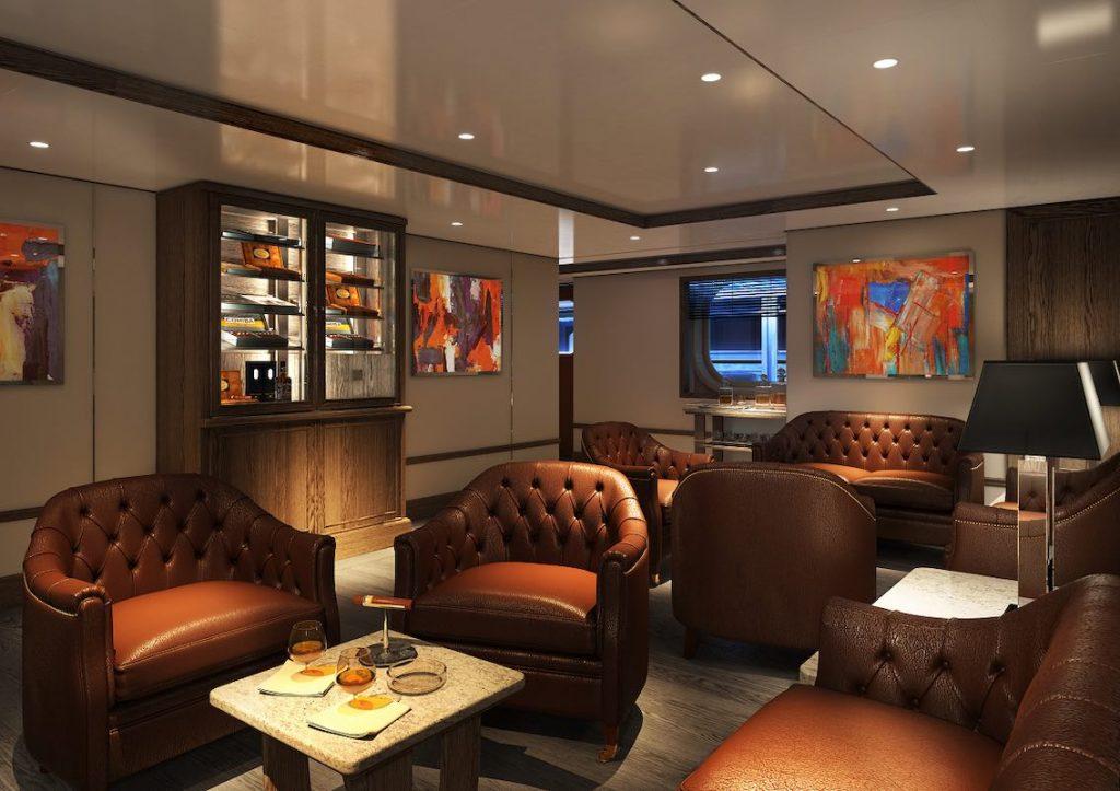 Silver Moon Silversea Zigarren Lounge