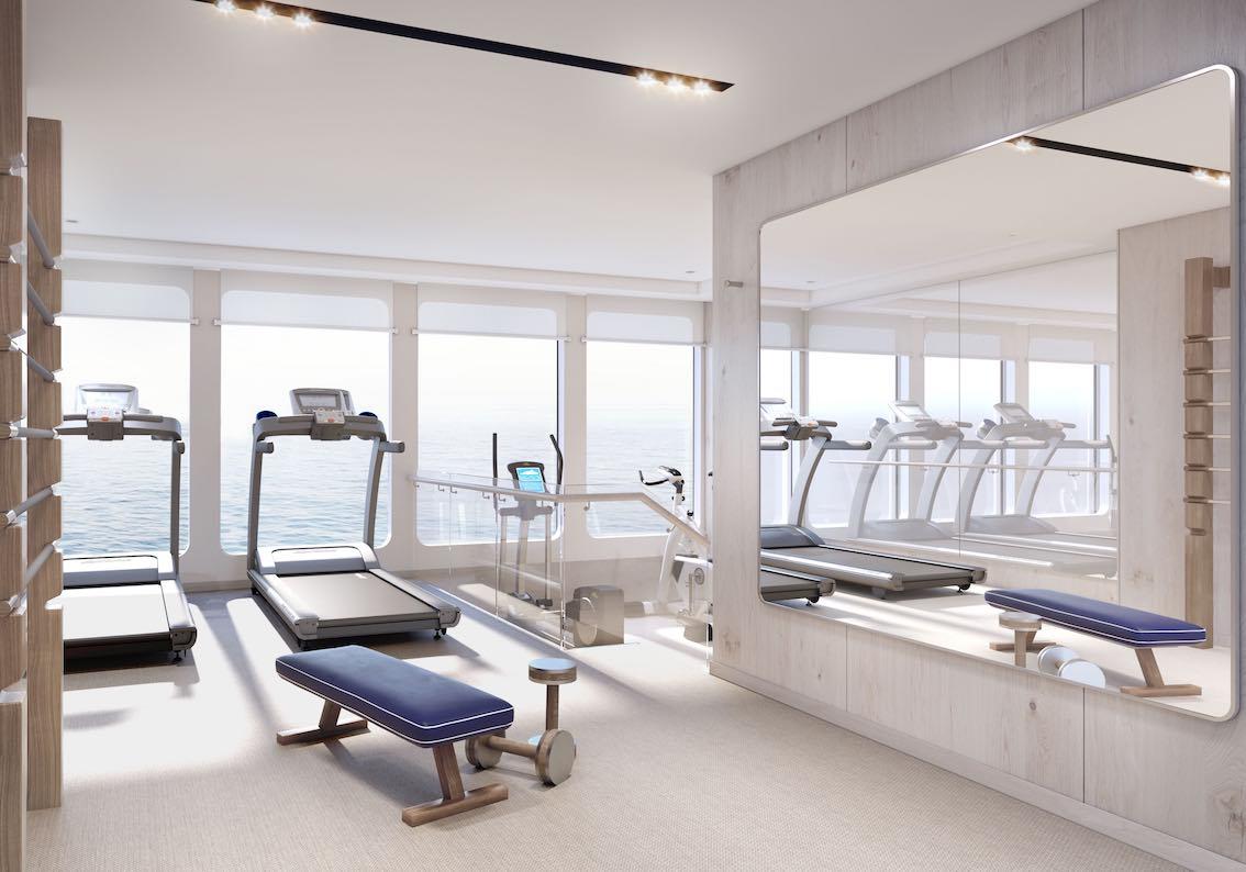 Silver Origin Kreuzfahrtschiff Fitness Studio