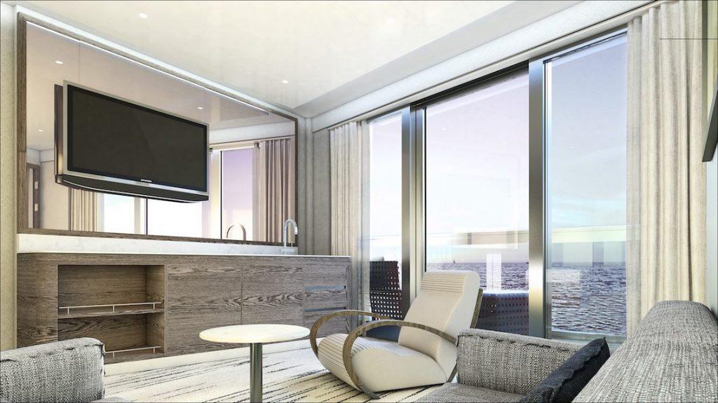 Silversea Silver Origin Suite mit Balkon