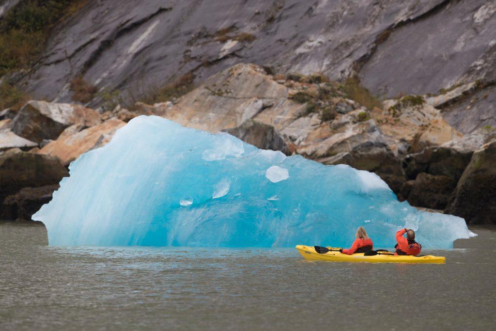Seabourn Padeln mit Eisbergen