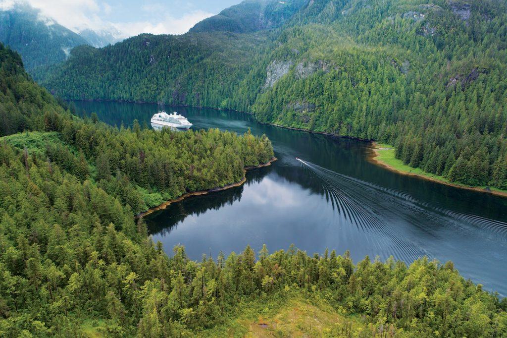 Seabourn Sojourn aerial - Misty Fjords, Alaska-2 Kopie