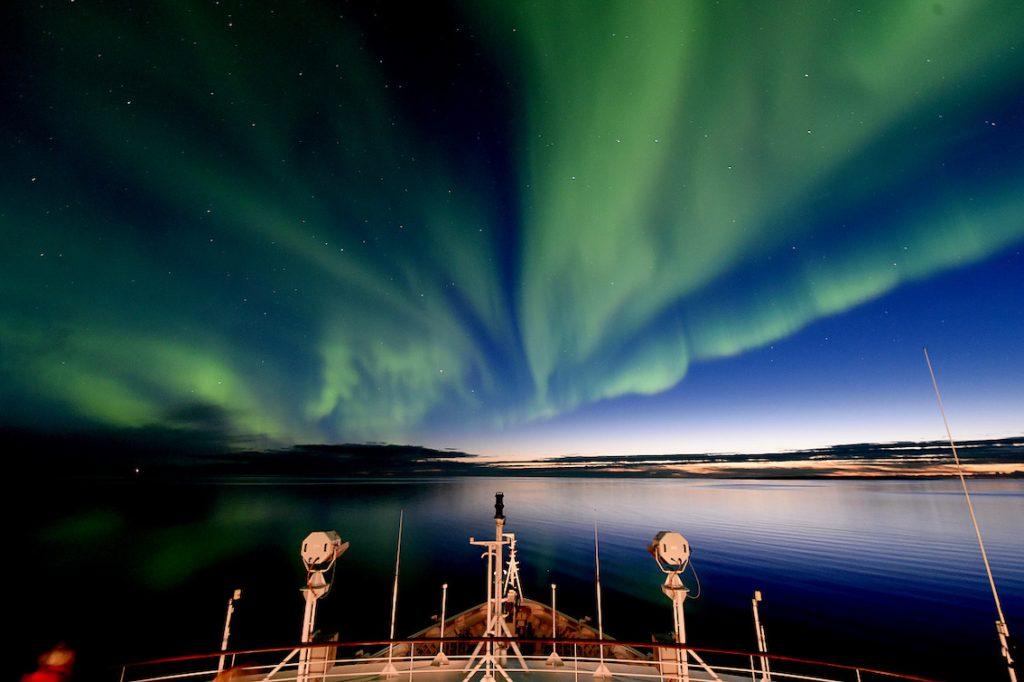 Ponant Le Boreal Polarlichter